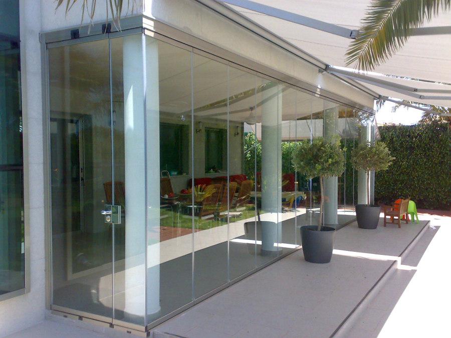 Cristaleria for Cortina cristal terraza